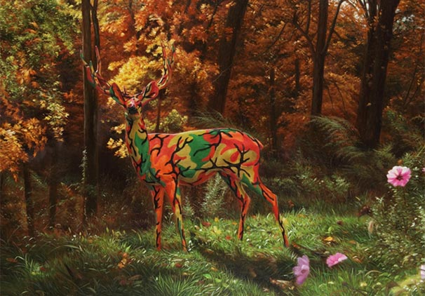 WHY FAMED POP ARTIST RON ENGLISH USES CAMOUFLAGE