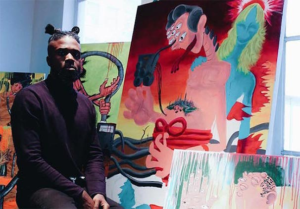 WORD OF MOUTH, LA: DJ, DESIGNER AND ARTIST GIANNI LEE SHARES HIS LATEST MUSIC, ART AND ANIME LOVES
