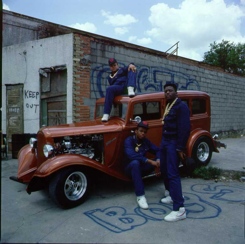 Geto Boys and old car