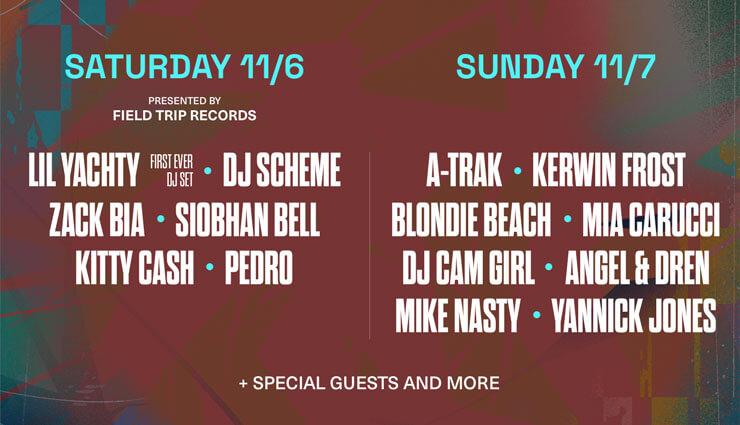 DJs & Special Live Guests