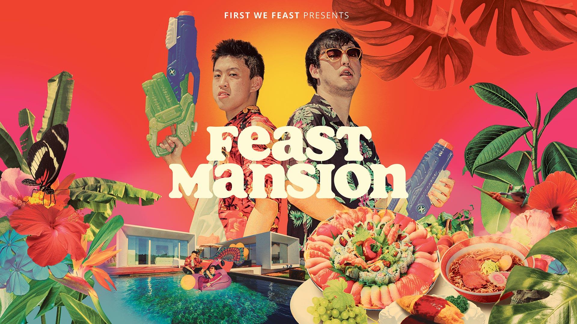 Joji & Rich Brian on The Feast Mansion Show