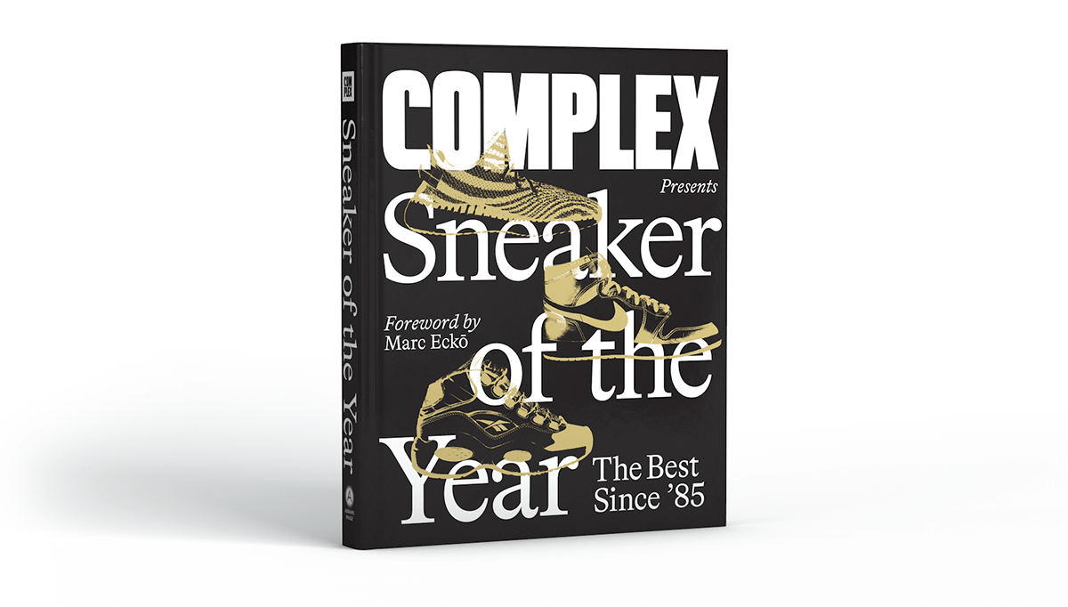 Sneaker of The Year Book Cover